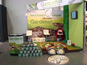 Gardenia 2017 Złoty Medal stoisko ANMAX producent obrzeża ogrodowego GARDENER