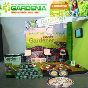 Gardenia 2017 obrzeże gardener, gardentape Złoty Medal