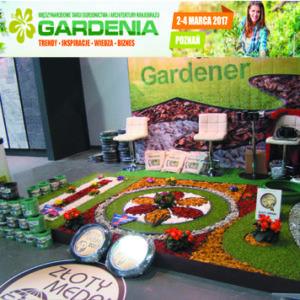Gardenia 2017 obrzeże gardener, gardentape Złoty Medal kompozycje