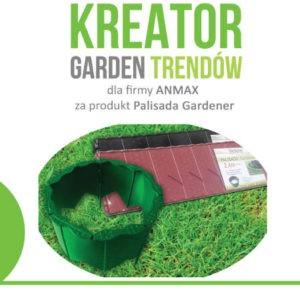 kreator GARDEN TRENDÓW 2018-anmax Palisada Gardener