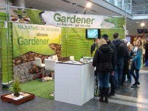 Gardenia 2018 stoisko ANMAX s.c. producent obrzeża Gardener
