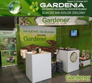 Targi Gardenia 2019 obrzeże Gardener